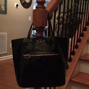 ♠️ Kate Spade Patent leather Black tote! ♠️